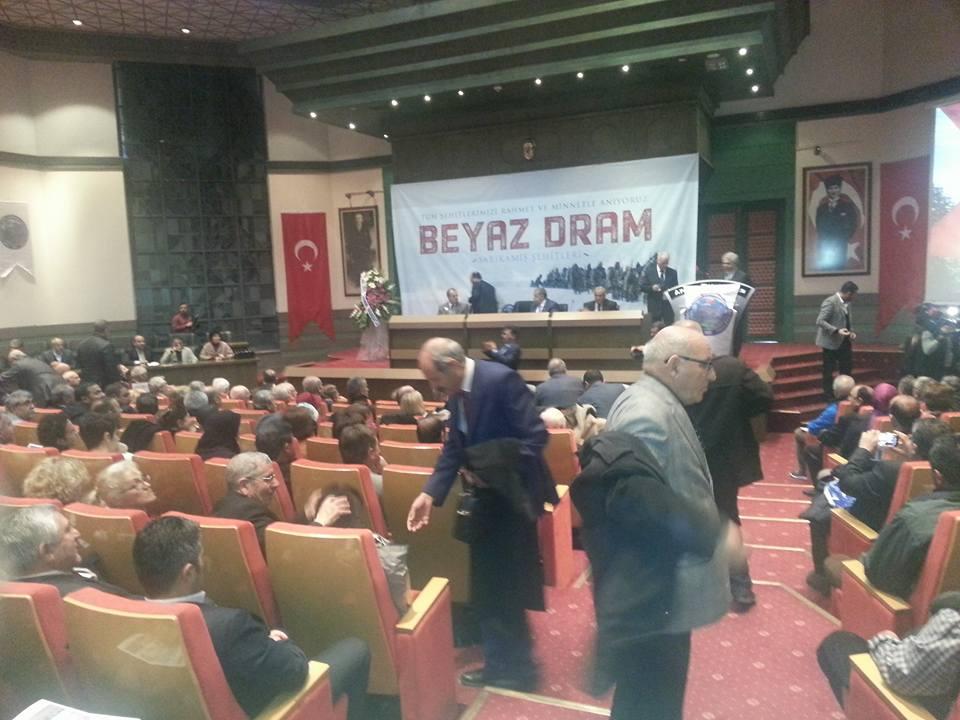 101.yıl SARIKAMIŞ ŞEHİTLERİ'' BEYAZ DRAM''
